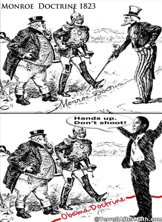 Obama Monroe Doctrine