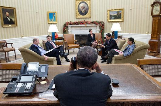 Obama phone Castro