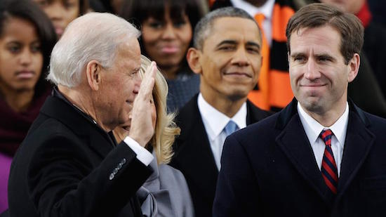 Joe and Beau Biden