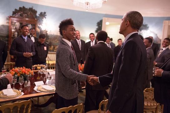 Obama Brothers keeper