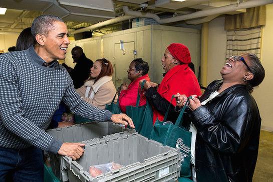 Obama handout