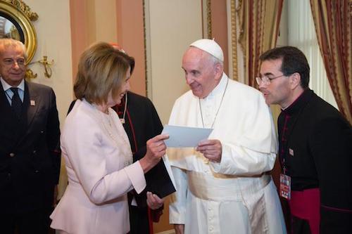 Pope Pelosi
