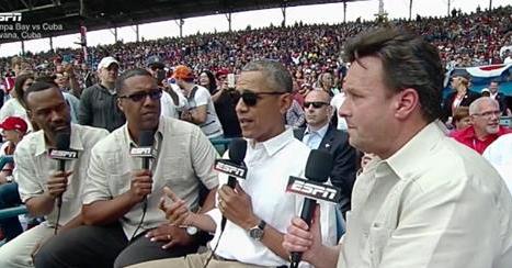 Obama Cuba baseball