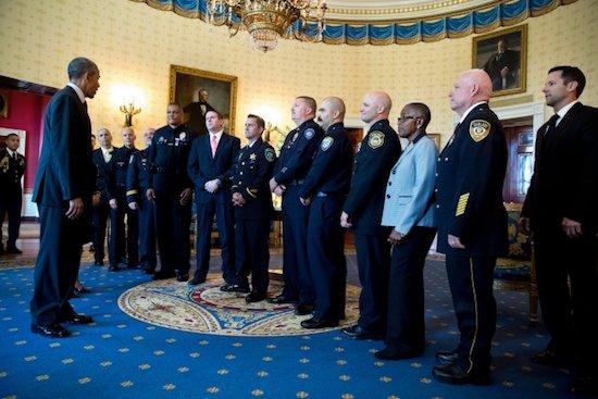 Obama police