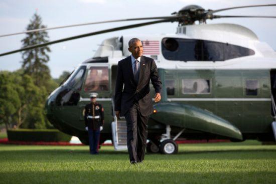 Obama chopper