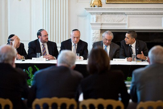Obama Jewish leaders
